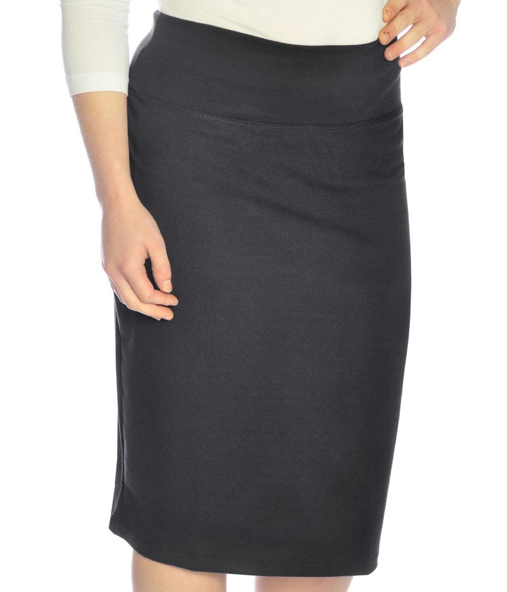 b22401a12528 Stretch Pencil Skirt. Women Modest Clothing. Kosher Casual.