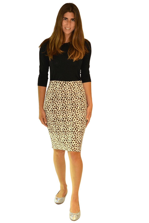 Black Caramel Leopard Print