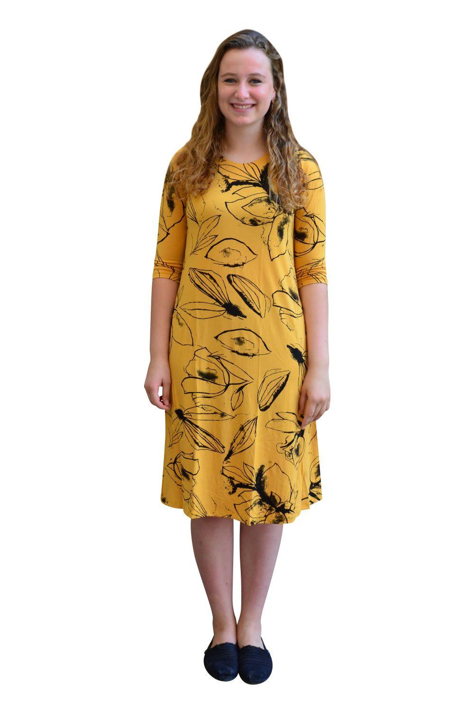 Sunflower Floral Print