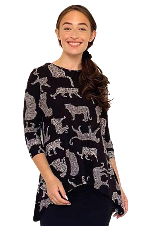 Leopard Image Print