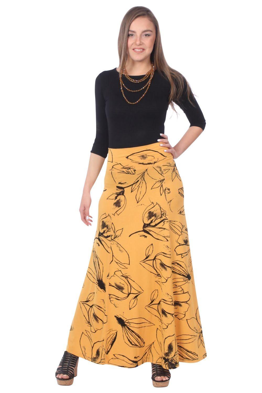 Sunflower with Black Print