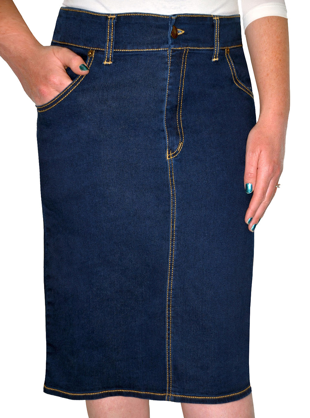 Modest Denim Skirts fo Girls. Modern and Modest. Kosher Casual