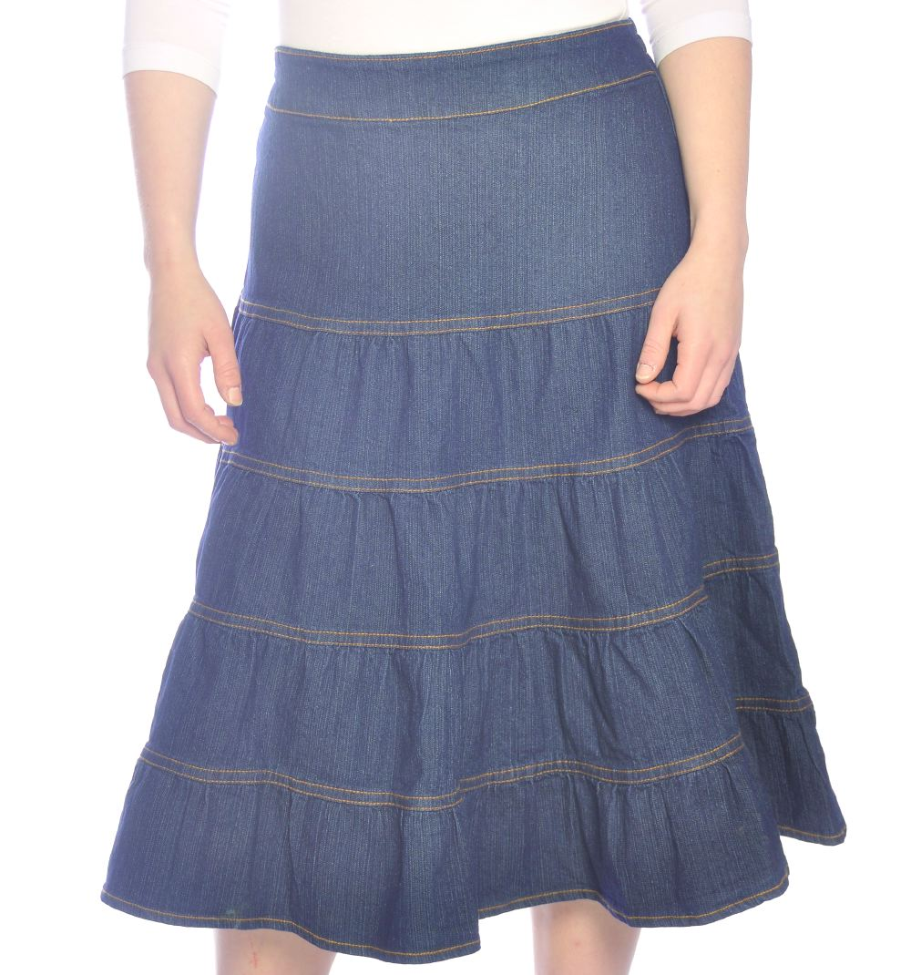 5c7d4a8ec2 Girls Jean Skirt - Redskirtz