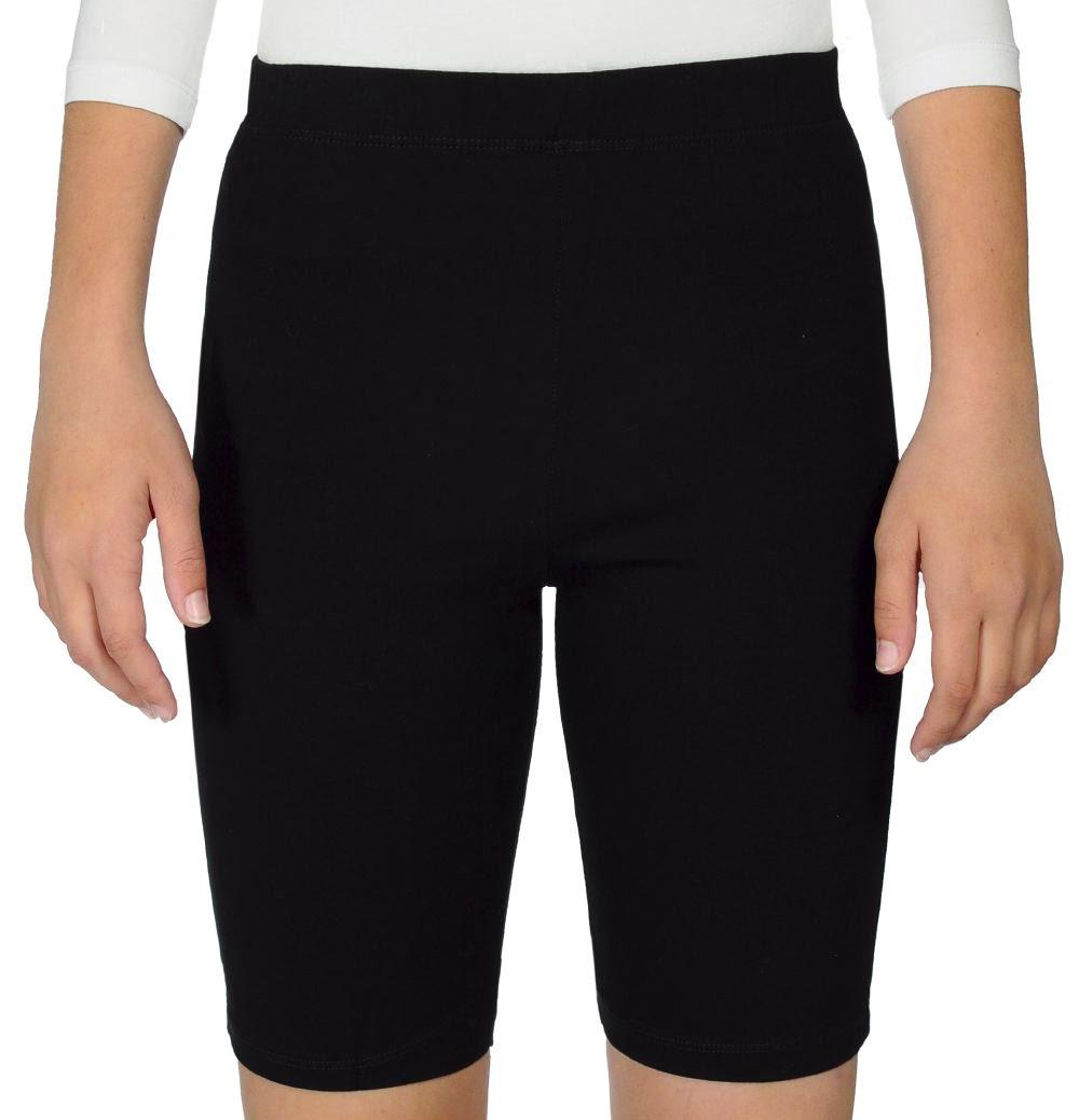 Bike Shorts for Women - 7 Inch Inseam Nylon Spandex