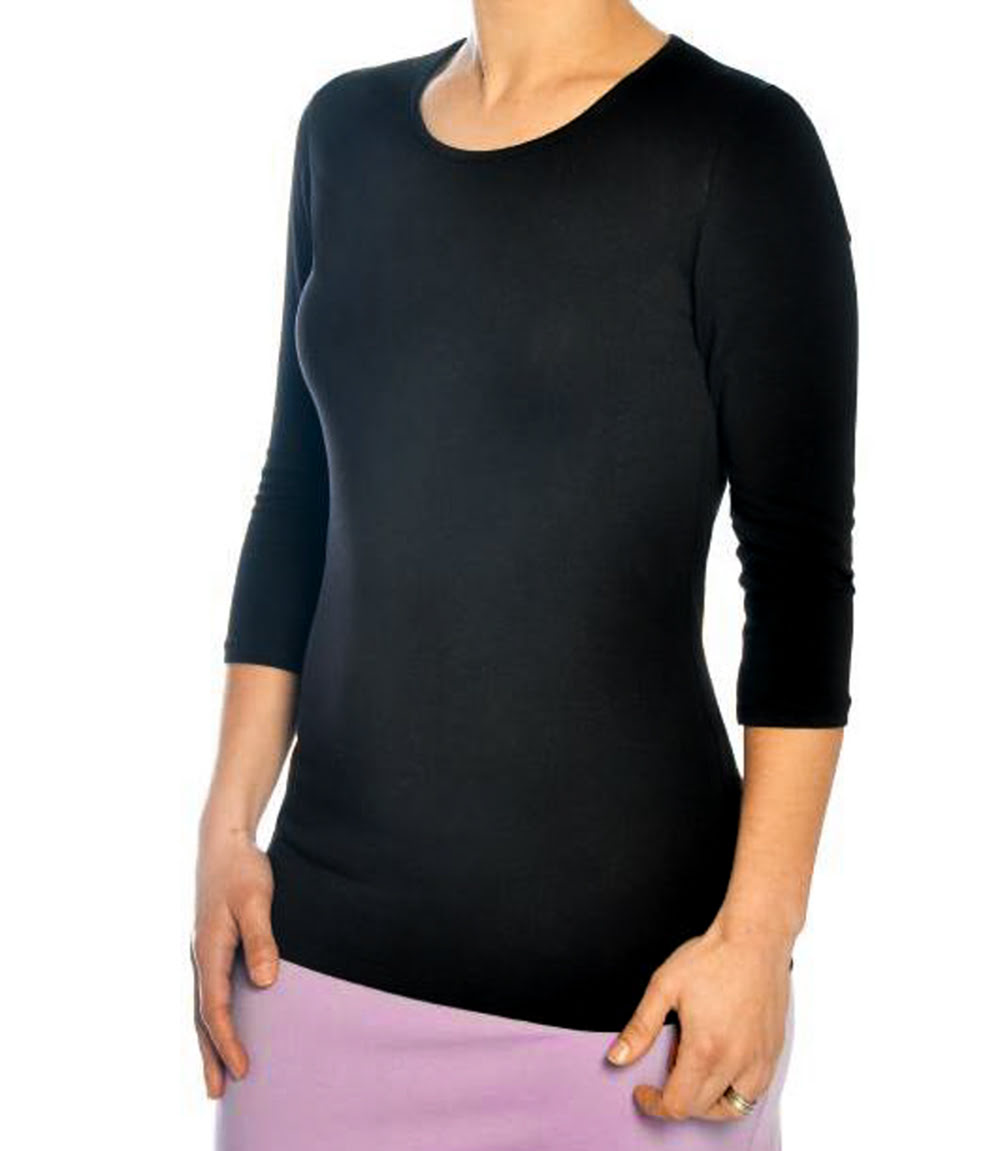 efa0d5164d97b8 Women s 3 4 sleeve layering tops. Kosher Casual