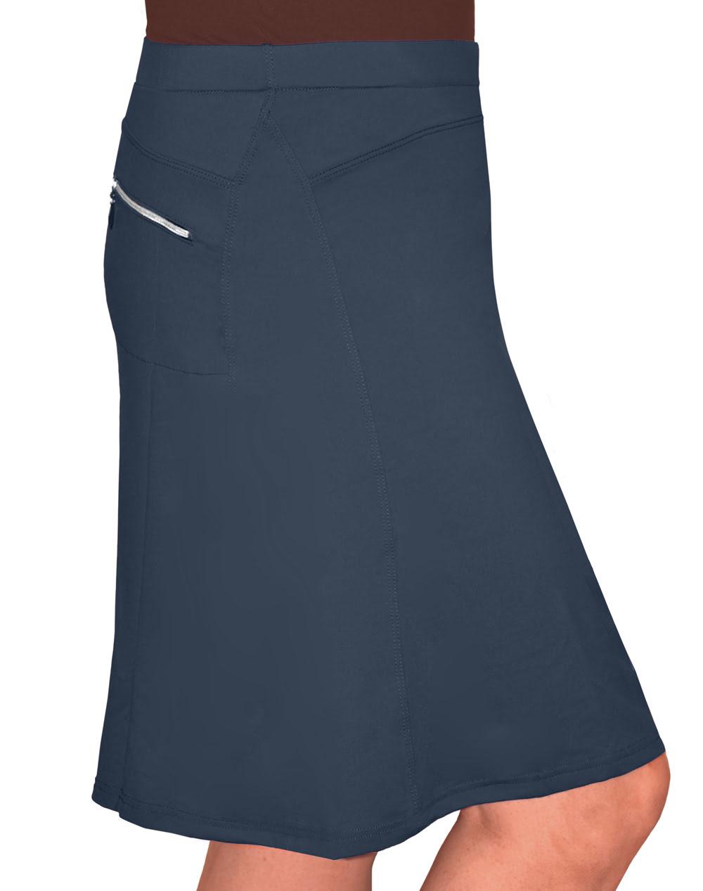 kosher casual s to the knee length running skirt