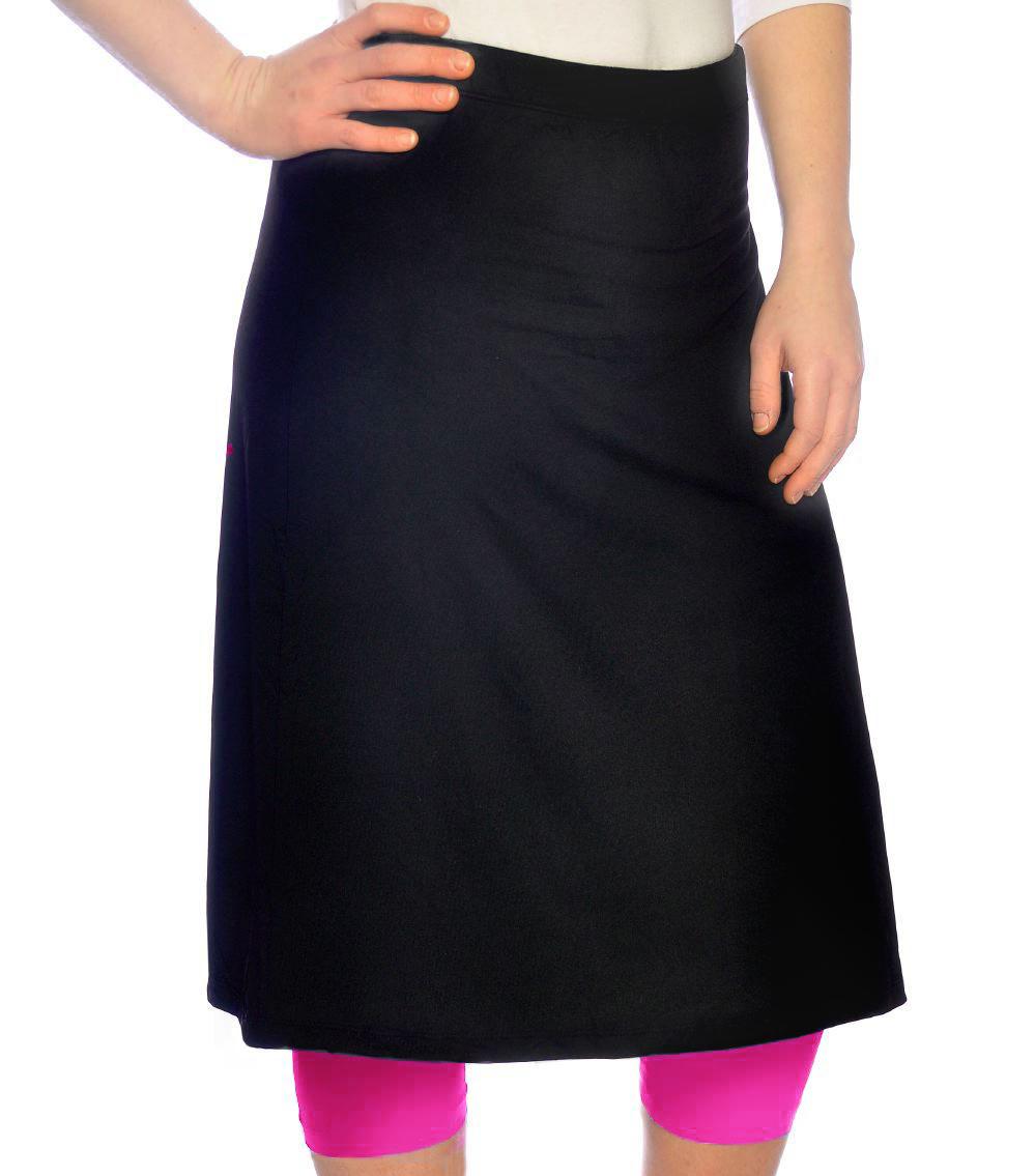 kosher casual s knee length running skirt with