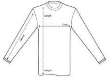 shirt measurement diagram smaller