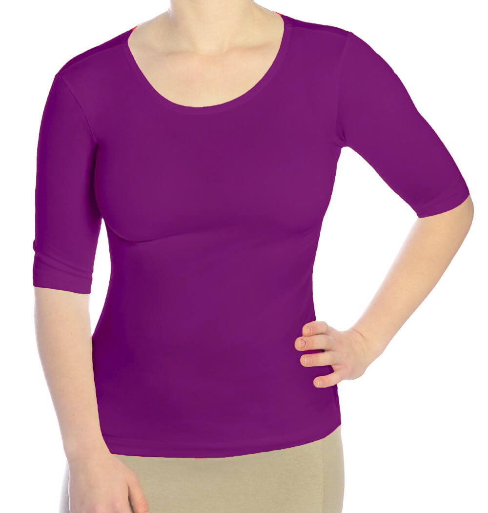 10d670b54c966 Elbow Sleeve Layering Top for Women  1245. zoomable. View Larger