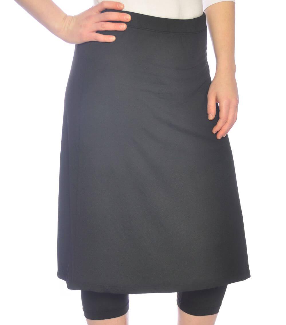 Sports Skirt Swim Skirt With Leggings For Girls