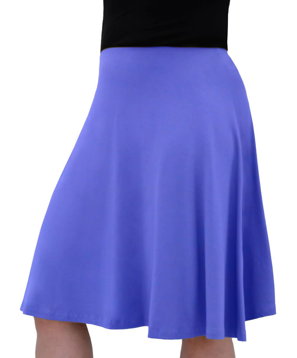 e9b6a45551 1400. Knee Length Skater Skirt for Girls