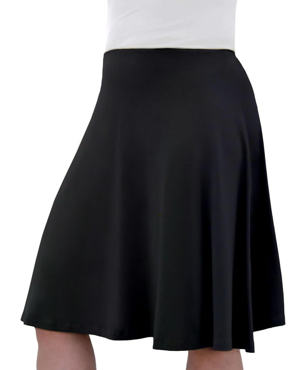 d85e291671 1400. Knee Length Skater Skirt ...