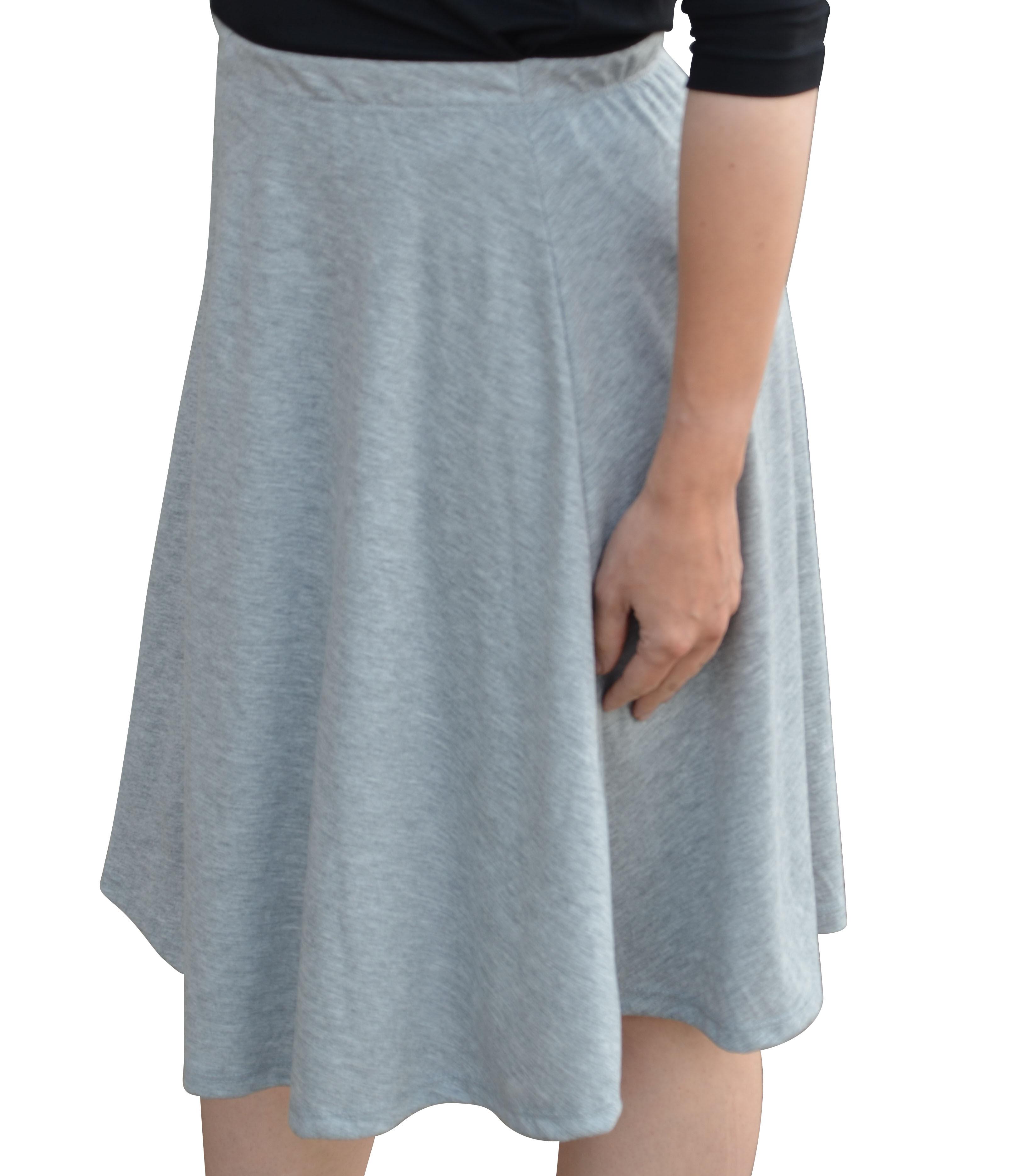 Girl long full skirt denim navy blue jean modest size 2 3 4 5 6 7 8 10 12 14