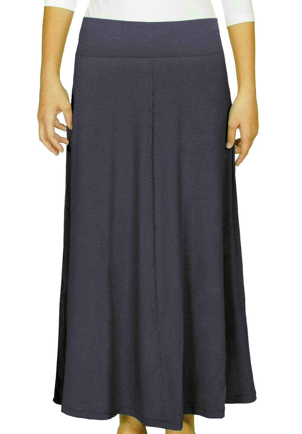 Maxi Skirt for Womens Flowing A-line