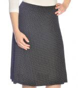 Polka Dot Skirt Flowing A-Line for Women