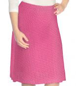 Polka Dot Skirt Flowing A-Line Girls #1456