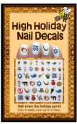 High Holiday Themed Nail Decals