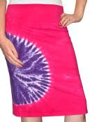Tie-dye Skirt Pencil for Girls