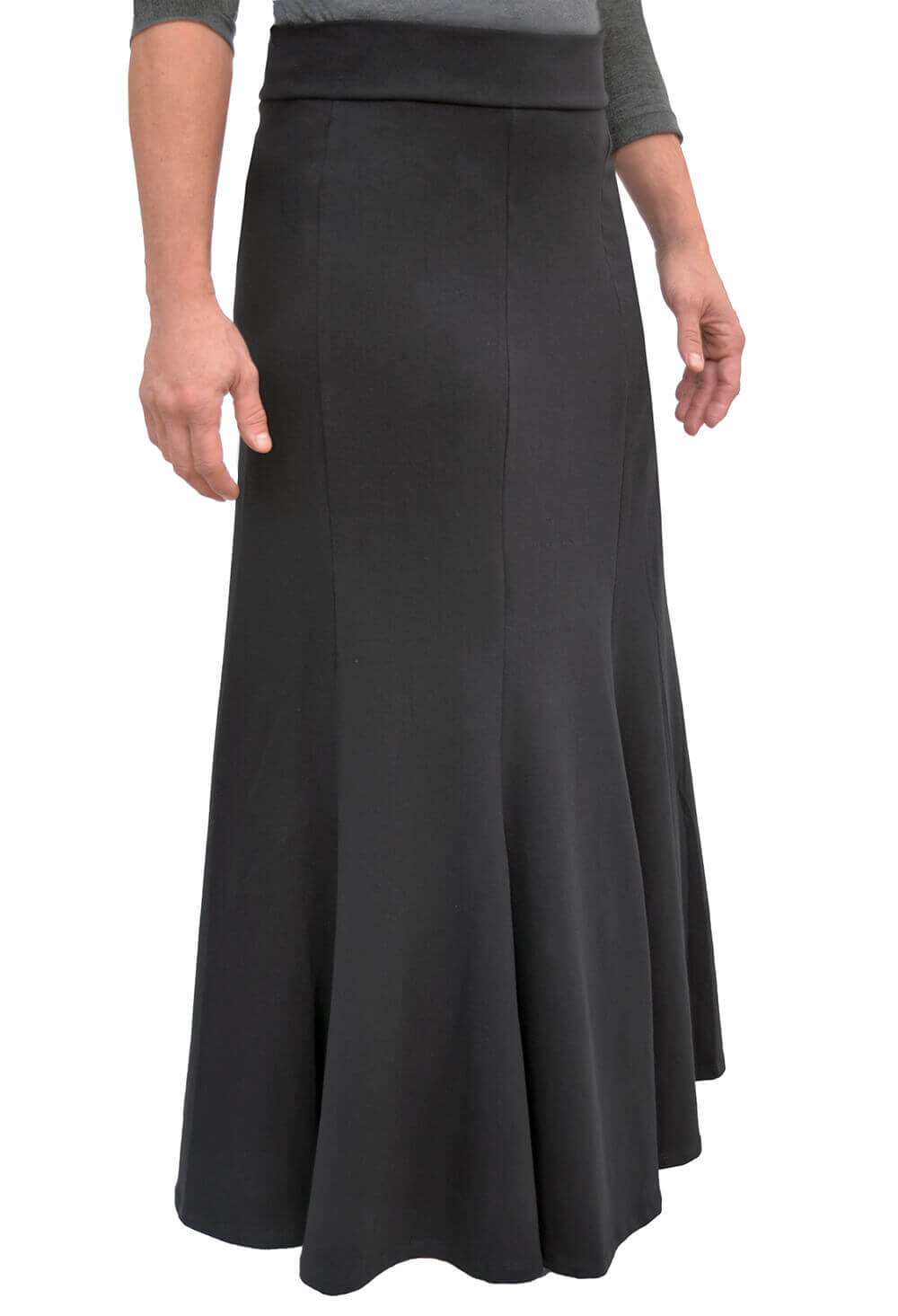 Fit n' Flare Maxi Skirt for Women